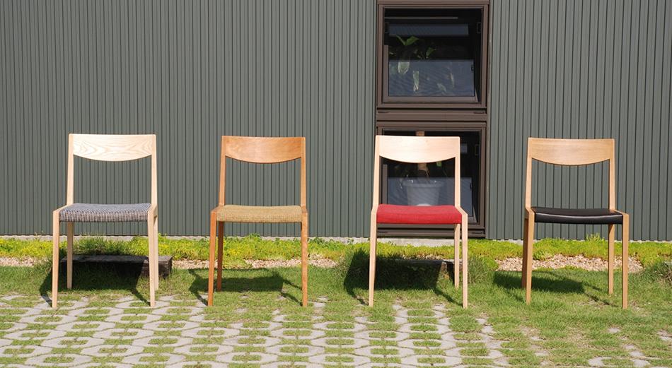 宮崎椅子の張地カラー